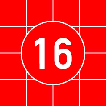 16面スライドパズル
