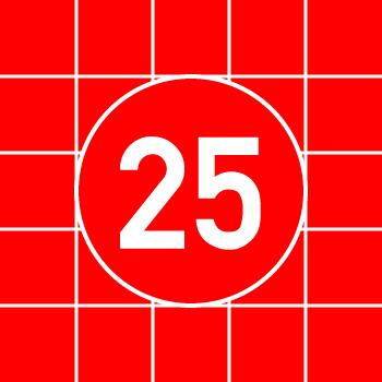 25面スライドパズル